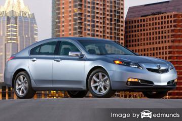 Insurance quote for Acura TL in Jersey City