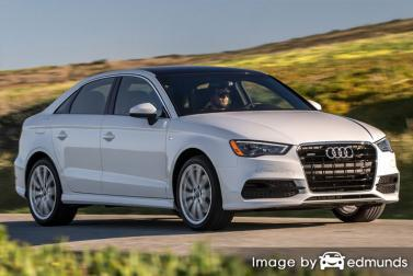 Insurance quote for Audi A3 in Jersey City