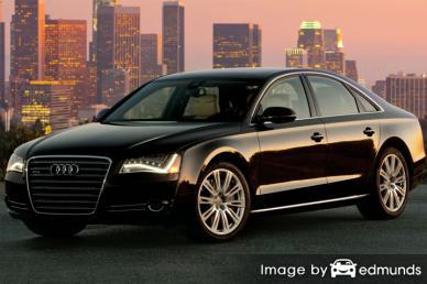 Insurance quote for Audi A8 in Jersey City