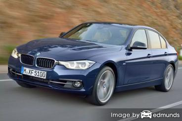 Insurance rates BMW 328i in Jersey City