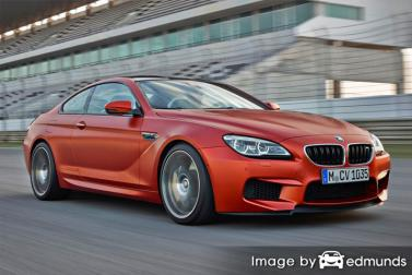 Insurance rates BMW M6 in Jersey City