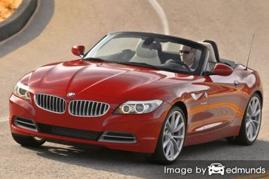 Insurance quote for BMW Z4 in Jersey City