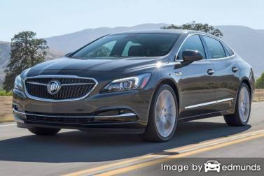 Insurance rates Buick LaCrosse in Jersey City