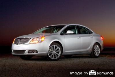 Insurance rates Buick Verano in Jersey City