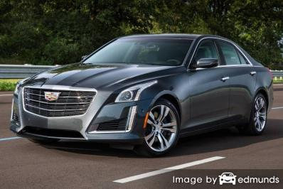 Insurance quote for Cadillac CTS in Jersey City