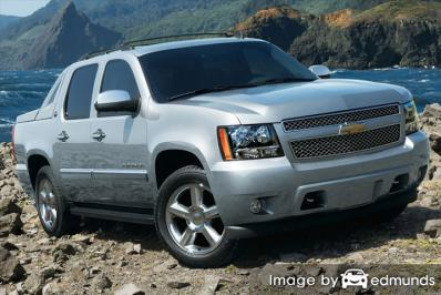 Insurance quote for Chevy Avalanche in Jersey City