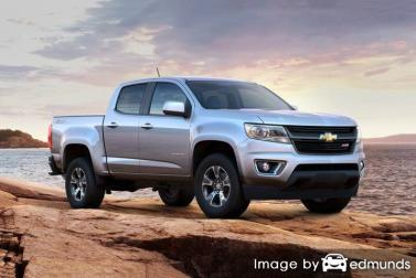 Insurance rates Chevy Colorado in Jersey City