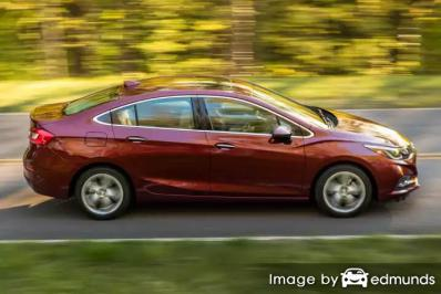Insurance quote for Chevy Cruze in Jersey City