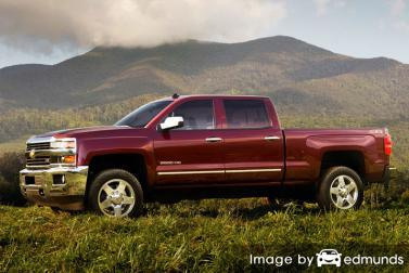 Insurance rates Chevy Silverado 2500HD in Jersey City