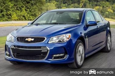 Insurance quote for Chevy SS in Jersey City