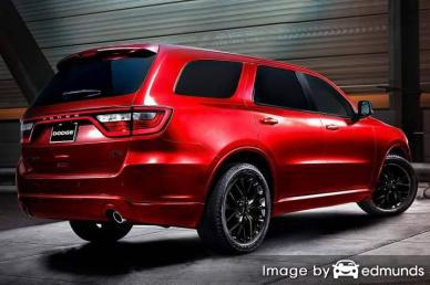Insurance quote for Dodge Durango in Jersey City