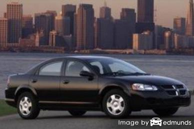 Insurance rates Dodge Stratus in Jersey City