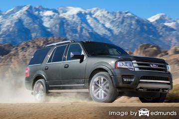 Insurance rates Ford Expedition in Jersey City