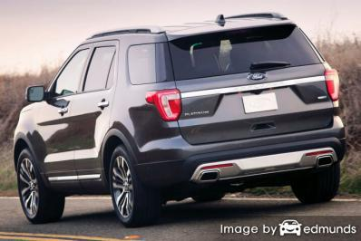 Insurance rates Ford Explorer in Jersey City