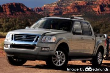 Insurance quote for Ford Explorer Sport Trac in Jersey City