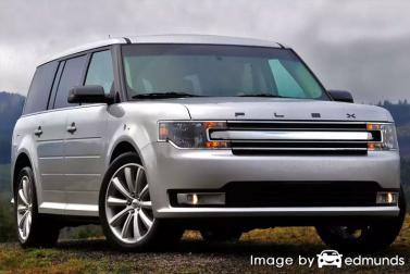 Insurance rates Ford Flex in Jersey City