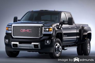 Insurance quote for GMC Sierra 3500HD in Jersey City