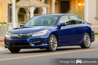 Insurance rates Honda Accord Hybrid in Jersey City