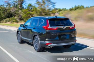 Insurance quote for Honda CR-V in Jersey City