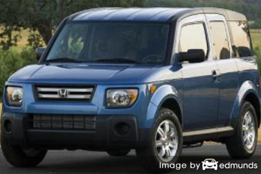 Insurance quote for Honda Element in Jersey City