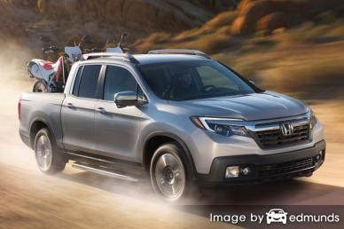 Insurance quote for Honda Ridgeline in Jersey City