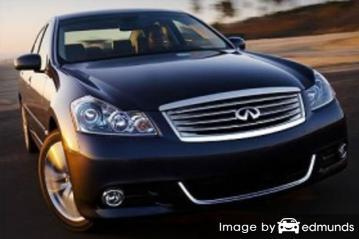 Insurance quote for Infiniti M35 in Jersey City
