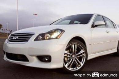 Insurance quote for Infiniti M45 in Jersey City