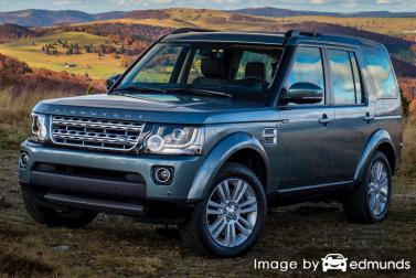 Insurance quote for Land Rover LR4 in Jersey City
