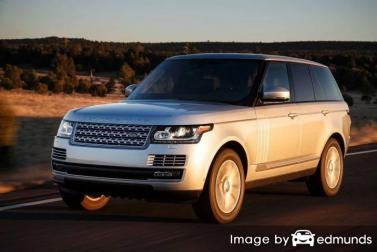 Insurance rates Land Rover Range Rover in Jersey City