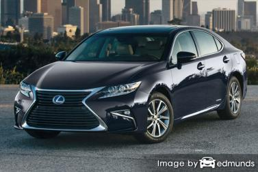 Insurance quote for Lexus ES 300h in Jersey City
