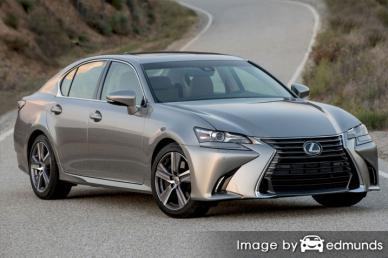 Insurance quote for Lexus GS 200t in Jersey City