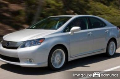 Insurance rates Lexus HS 250h in Jersey City