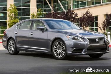 Insurance quote for Lexus LS 460 in Jersey City