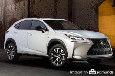 Insurance quote for Lexus NX 200t in Jersey City