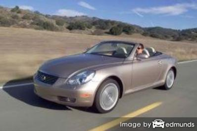 Insurance rates Lexus SC 430 in Jersey City