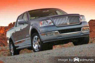 Insurance rates Lincoln Mark LT in Jersey City