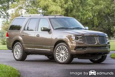Insurance rates Lincoln Navigator in Jersey City