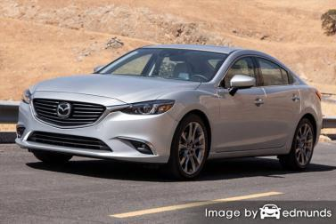 Insurance quote for Mazda 6 in Jersey City