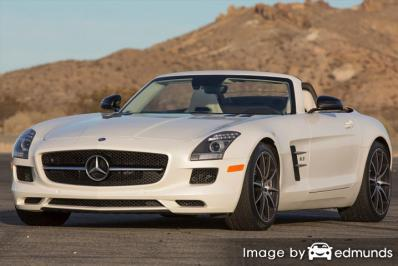 Insurance quote for Mercedes-Benz SLS AMG in Jersey City