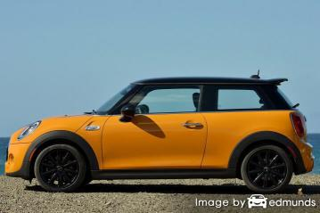 Insurance rates Mini Cooper in Jersey City