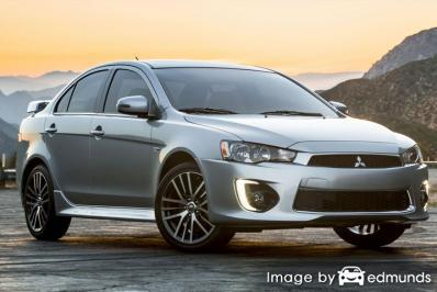 Insurance rates Mitsubishi Lancer in Jersey City