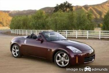Insurance quote for Nissan 350Z in Jersey City