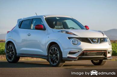 Insurance quote for Nissan Juke in Jersey City