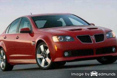 Insurance quote for Pontiac G8 in Jersey City