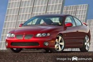 Insurance quote for Pontiac GTO in Jersey City