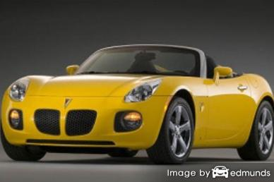 Insurance rates Pontiac Solstice in Jersey City