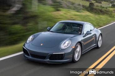 Insurance rates Porsche 911 in Jersey City