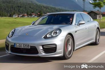 Insurance rates Porsche Panamera in Jersey City