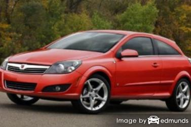 Insurance rates Saturn Astra in Jersey City