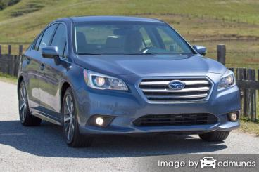 Insurance quote for Subaru Legacy in Jersey City